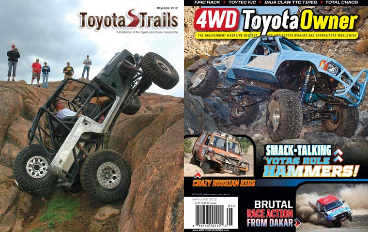 Now including complimentary Toyota Trails & 4WD Toyota Owner magazines!