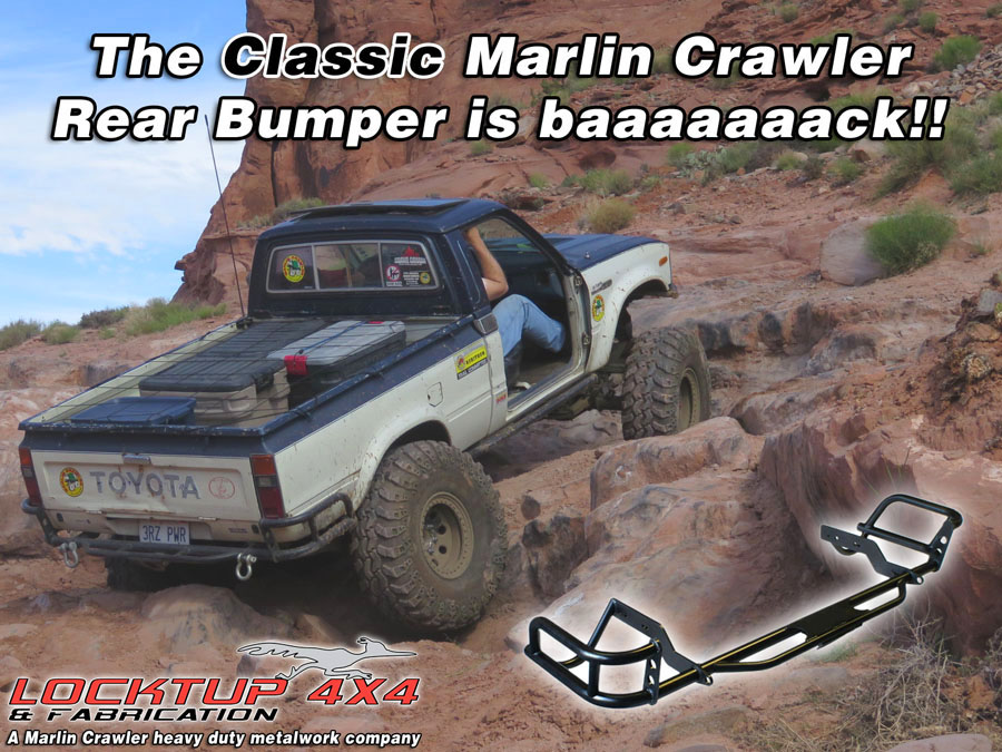 Our Classic Rear Rock Crawling Tube Bumpers are back!
