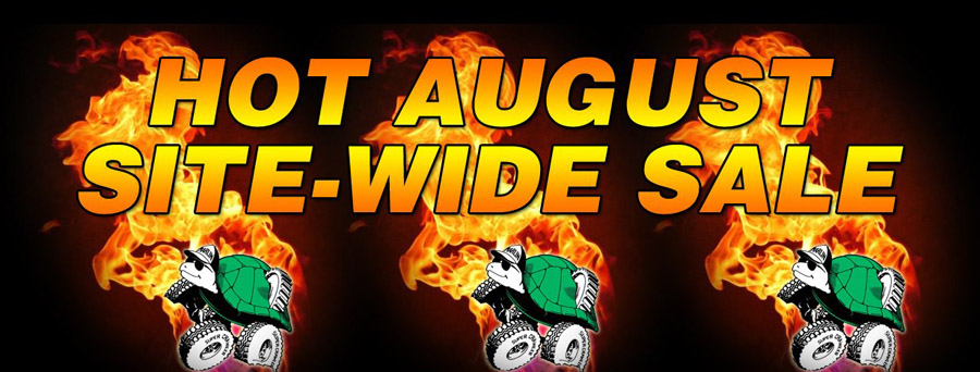Hot August site-wide Sale going on now!